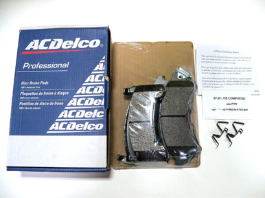 ACDelco Professional semi-metallic brake pads