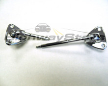 Brackets - T-Top w/PS illuminated visor (long pin) swivels (PAIR consisting of 1-LH Reg, 1-RH-long pin lit visor)