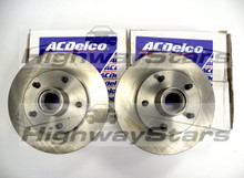ACDelco parts Buick Grand National brake rotors