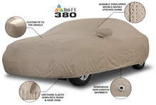 Custom Cover Craft car cover Block it 380 with mirror pockets