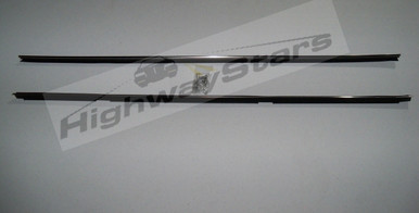 Buick Grand National Inner Belt moldings window dew sweeps with stainless steel core and FREE rivets