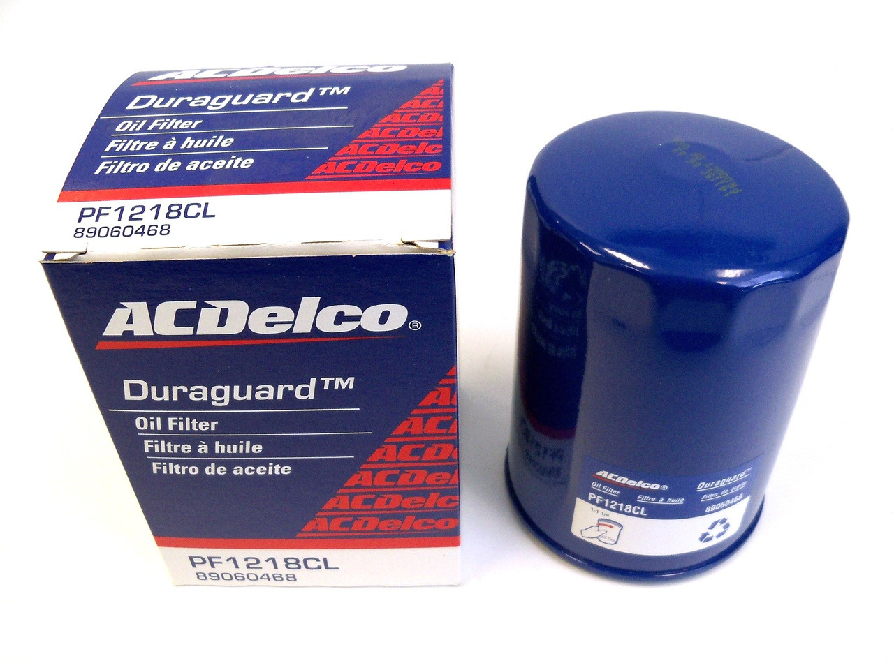 Filter - Engine Oil for 1989 Turbo Trans Am - ACDelco