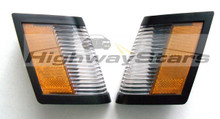 Buick Grand National GNX marker light lenses pair