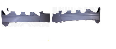 Buick Grand National Rear Bumper fillers - made of flexibleTPO plastic