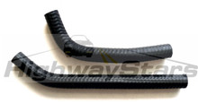 Throttle Body Coolant Hoses MOLDED (pair) - replaces GM# 25525401 & 25525402 (no printing)
