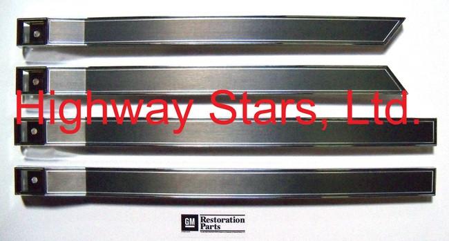 Door Trim (Door Panel Escutcheons) Set of 4 - 20656101 20656102 20656103  PLUS Set of 4 Screw covers