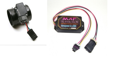 COMBO Mass Air Flow Sensor LS1 style  3 inch with MAF translator  for 1986 1987 Turbo Regal Grand National