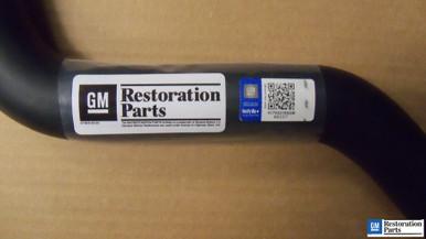 Upper radiator hose for 1986 1987 Buick Grand National Turbo Regal # 25525229 LGM - Licensed GM Restoration