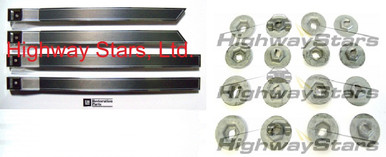 Door trim escutcheons for Turbo Regal Grand National GNX with 16 correct thread cutting nuts