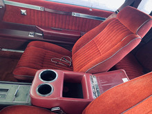 Custom made 1984 Turbo T Buick regal seat covers made by Highway Stars