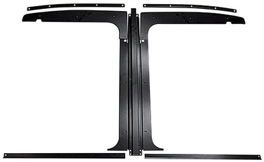 Buick Grand National stainless steel T-top kit for 78-88 MALIBU; MONTE CARLO; REGAL; GRAND PRIX; CUTLASS