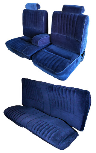 Buick Turbo Regal  T-Type 60/40 Split Bench Seat Covers with rear seat