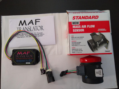 COMBO Mass Air Flow Sensor Lt1 style  3 inch Standard with MAF translator  for 1986 1987 Turbo Regal Grand National