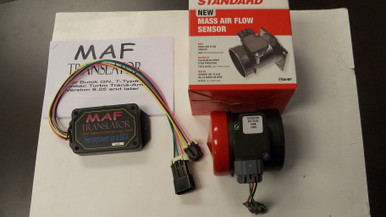 COMBO Mass Air Flow Sensor Lt1 style  3 1/2 inch Standard with MAF translator  for 1986 1987 Turbo Regal Grand National