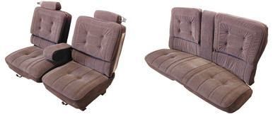 Buick Turbo Regal Limited Seat covers with pull down arm rest sold through Highway Stars