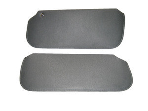 Pair of sun visors with set screw available in several colors for Turbo Regal Grand National GNX