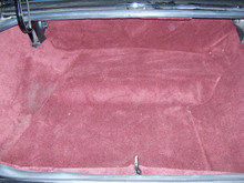 Carpeted trunk kit in your choice of color for Buick Grand National or Turbo Regal available from Highway Stars