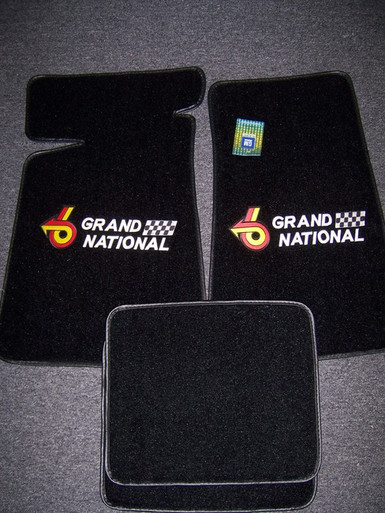 Highway Stars sells Buick Grand National floor mats 4 pc set with front mats embroidered 53P made by ACC