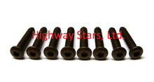 Set of 8 correct Headlight Bezel Screws