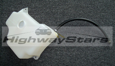 GM Radiator Coolant Overflow Reservoir GM# 25525470 with hose and clamps sold by Highway Stars