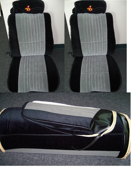 Interior - 1985-1987 Grand National Seat covers - Complete Set made  w/EXCLUSIVE MATERIAL w/TURBO 6 Headrests