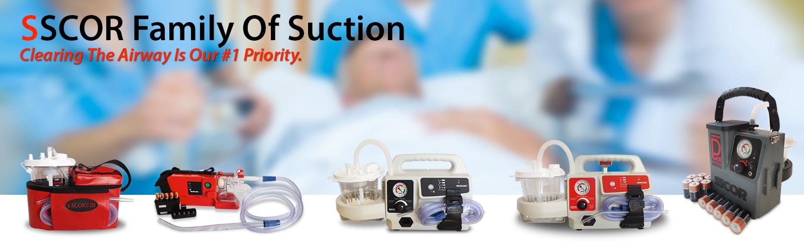 SSCOR Suction Units
