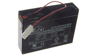 Battery 12v 2.8Ah SxS 2 pin Mo