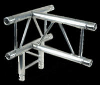 "Global Truss F32 12"" I Beam 4 Way Vertical T-Junction / 1.64ft. (0.5m)"