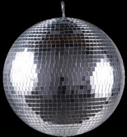 "ADJ 12"" Glass Disco Mirror Ball / M1212"