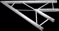"Global Truss F32 12"" I Beam Horizontal 2 Way 45˚ Corner / 3.28ft."