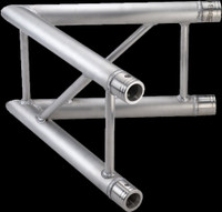 "Global Truss F32 12"" I Beam Vertical 2 Way 60˚Corner / 3.28ft. (1.0m)"