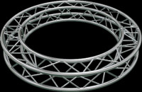 "Global Truss F34 12"" Square Truss Circle / 6.56ft. (2.0m)"