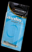 "Accu Cable Male 1/4"" To Female RCA ACQMRCAF - ACQMRCAF"