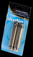 Accu Cable Female 3 pin XLR to Female 3 pin XLR Adapter