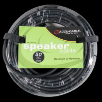 "Accu Cable SK4-5012 Speakon To 1/4"" Jack - 50 Ft 12 Gauge"