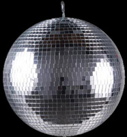 "ADJ Large 40"" Glass Nightclub Disco Mirror Ball / M-4040"