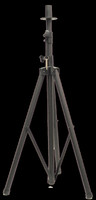 American Audio SPS1 Black Aluminum Speaker Stand Tripod