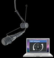 CAD Astatic Commercial Variable Polar / Hanging Microphone / 2600VP