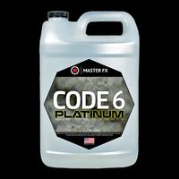 Master FX Code 6 Platinum High Density Long Lasting Fog Machine Fluid