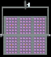 Elation TVL3B32 6 Light Mounting Bracket Kits for TVL300 II