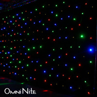 Omnisistem Omni Nite LED Backdrop Curtain DJ Lighting Effect / RGBA / WW