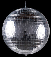 "Phantom Dynamics 24"" Glass Mirror Disco Ball"