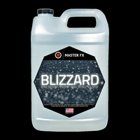 Master FX Blizzard In a Bottle Standard Snow Machine Refill Fluid