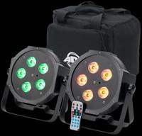 ADJ Mega 64 HEX Pak LED Par Can Combo Package