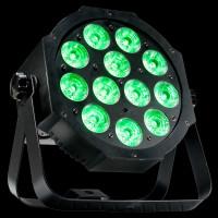 ADJ Mega 64 Profile Plus Quad LED Par Can Lights / RGB+UV