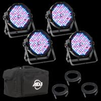 ADJ Mega Flat Pak Plus LED Par Can Club Lighting Package