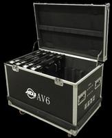 ADJ AV6FC Road Case for AV6 Video LED Panels