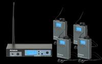 Airwave EAR-PAK-4 UHF In-Ear Monitor Wireless System