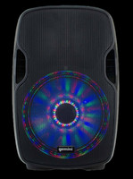 "Gemini AS-15BLU-LT Active 15"" Loudspeaker w/ LED Array / Bluetooth"