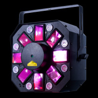ADJ Stinger II HEX LED Moonflower w/ Laser + UV